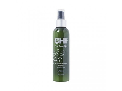 CHI Arbatmedžio Apsauginis Losjonas CHI Tea Tree Oil Blow Dry Primer Lotion 177ml