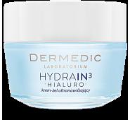 Dermedic HYDRAIN3 HIALURO intensyviai drėkinantis gelinis kremas, 50g