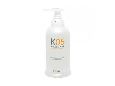 KAARAL K05 SERUM-BALANCING šampūnas riebiai galvos odai, 1000 ml.