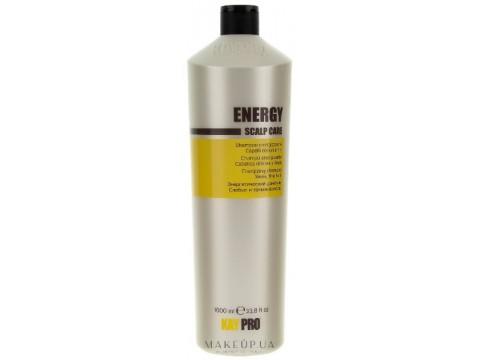 KAY PRO ENERGY energijos suteikiantis šampūnas silpniems ir ploniems plaukams,1000ml