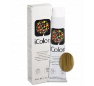 iCOLORI  plaukų dažai su argininu, aliejų kompleksu, sumažintu amoniako kiekiu profesionaliam naudojimui (90 ml) Nr. 11.1 Blond Cenere Super Platina