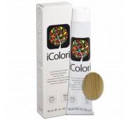 iCOLORI  plaukų dažai su argininu, aliejų kompleksu, sumažintu amoniako kiekiu profesionaliam naudojimui (90 ml) Nr. 12.1 Blond cenere super extra platino
