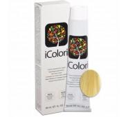 iCOLORI  plaukų dažai su argininu, aliejų kompleksu, sumažintu amoniako kiekiu profesionaliam naudojimui (90 ml) Nr. 12.3 BIONDO DORATO SUPER EXTRA PLATINO