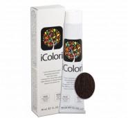 iCOLORI  plaukų dažai su argininu, aliejų kompleksu, sumažintu amoniako kiekiu profesionaliam naudojimui (90 ml) Nr. 2.2 BRUNO VIOLA