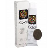 iCOLORI  plaukų dažai su argininu, aliejų kompleksu, sumažintu amoniako kiekiu profesionaliam naudojimui (90 ml) Nr. 6.2 BIONDO SCURO VIOLA