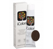 iCOLORI  plaukų dažai su argininu, aliejų kompleksu, sumažintu amoniako kiekiu profesionaliam naudojimui (90 ml) Nr. 6.3  BIONDO SCURO DORATO