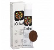 KAY PRO iCOLORI  plaukų dažai su argininu, aliejų kompleksu, sumažintu amoniako kiekiu profesionaliam naudojimui (90 ml) Nr. 6.34 BIONDO SCURO ORO RAMATO