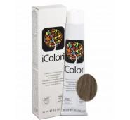 iCOLORI  plaukų dažai su argininu, aliejų kompleksu, sumažintu amoniako kiekiu profesionaliam naudojimui (90 ml) Nr. 7.1 BIONDO CENER