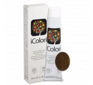 KAY PRO iCOLORI  plaukų dažai su argininu, aliejų kompleksu, sumažintu amoniako kiekiu profesionaliam naudojimui (90 ml) Nr. 7.73 BIONDO NOCCIOLA