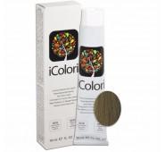 iCOLORI  plaukų dažai su argininu, aliejų kompleksu, sumažintu amoniako kiekiu profesionaliam naudojimui (90 ml) Nr. 8.2 BIONDO CHIARO MATT