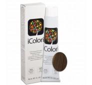 iCOLORI  plaukų dažai su argininu, aliejų kompleksu, sumažintu amoniako kiekiu profesionaliam naudojimui (90 ml) Nr. 8.32 BIONDO CHIARO BEIGE