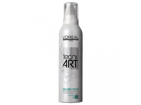 LOREAL Plaukų Putos L'Oreal Professionnel Tecni Art Full Volume Riche Mousse (4) 250ml