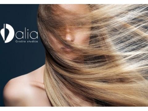 Ilgalaikis plaukų tiesinimas INOAR keratinu