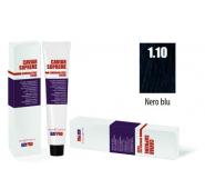 CAVIAR SUPREME - CREMA COLORANTE Kreminiai plaukų dažai be amoniako ir pPD 1.10 Nero blu