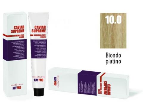 CAVIAR SUPREME - CREMA COLORANTE Kreminiai plaukų dažai be amoniako ir pPD 10.0 Biondo platino