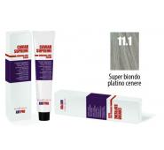 CAVIAR SUPREME - CREMA COLORANTE Kreminiai plaukų dažai be amoniako ir pPD 11.1 Super biondo platino cenere