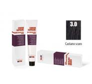 CAVIAR SUPREME - CREMA COLORANTE Kreminiai plaukų dažai be amoniako ir pPD 3.0 CASTANO SCURO