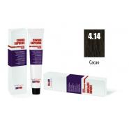 CAVIAR SUPREME - CREMA COLORANTE Kreminiai plaukų dažai be amoniako ir pPD 4.14 Cacao