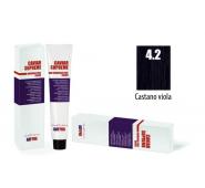 CAVIAR SUPREME - CREMA COLORANTE Kreminiai plaukų dažai be amoniako ir pPD 4.2 Castano viola