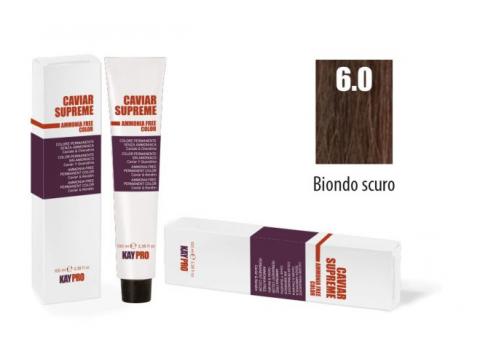 CAVIAR SUPREME - CREMA COLORANTE Kreminiai plaukų dažai be amoniako ir pPD 6.0 Biondo scuro intenso