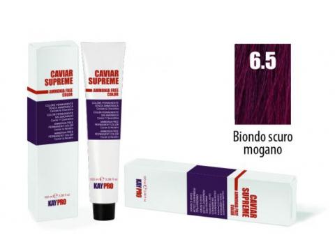 CAVIAR SUPREME - CREMA COLORANTE Kreminiai plaukų dažai be amoniako ir pPD 6.5 Biondo scuro mogano