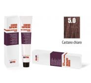 CAVIAR SUPREME - CREMA COLORANTE Kreminiai plaukų dažai be amoniako ir pPD 1.0 CASTANO CHIARO