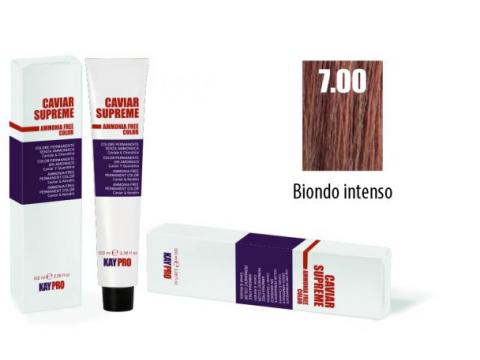CAVIAR SUPREME - CREMA COLORANTE Kreminiai plaukų dažai be amoniako ir pPD 7.0 Biondo intenso