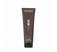SELECTIVE FOR MAN BACK TO BLACK nusiplaunantis juodos spalvos plaukų formavimo gelis žiliems plaukams, 150 ml