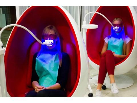 SmileBar dantų balinimas be peroksido