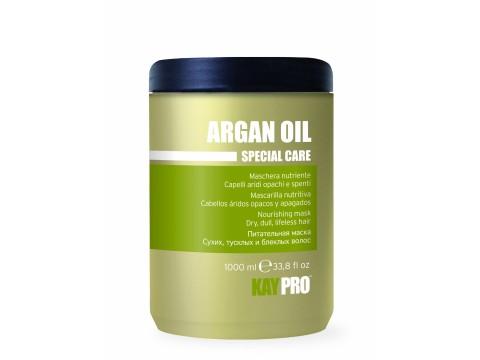 KAY PRO ARGAN OIL maitinanti kaukė sausiems, silpniems, nualintiems plaukams, 1000 ml.