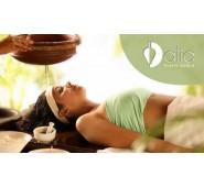 Gyvybinę energiją aktyvinantis Ajurvedinis marmų viso kūno masažas 90 min.