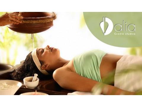 Gyvybinę energiją aktyvinantis Ajurvedinis marmų viso kūno masažas 60 min.