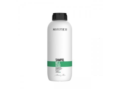 Selective MELA VERDE Universalus šampūnas su žaliųjų obuolių ekstraktu, 1000 ml