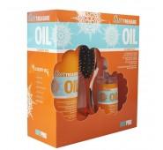 KAY PRO TRASURE OIL SUN KIT rinkinys plaukų priežiūrai su apsauga nuo saulės